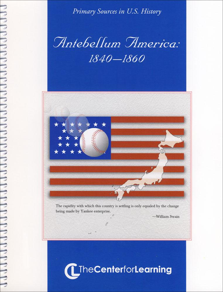 Antebellum America Lesson Plans