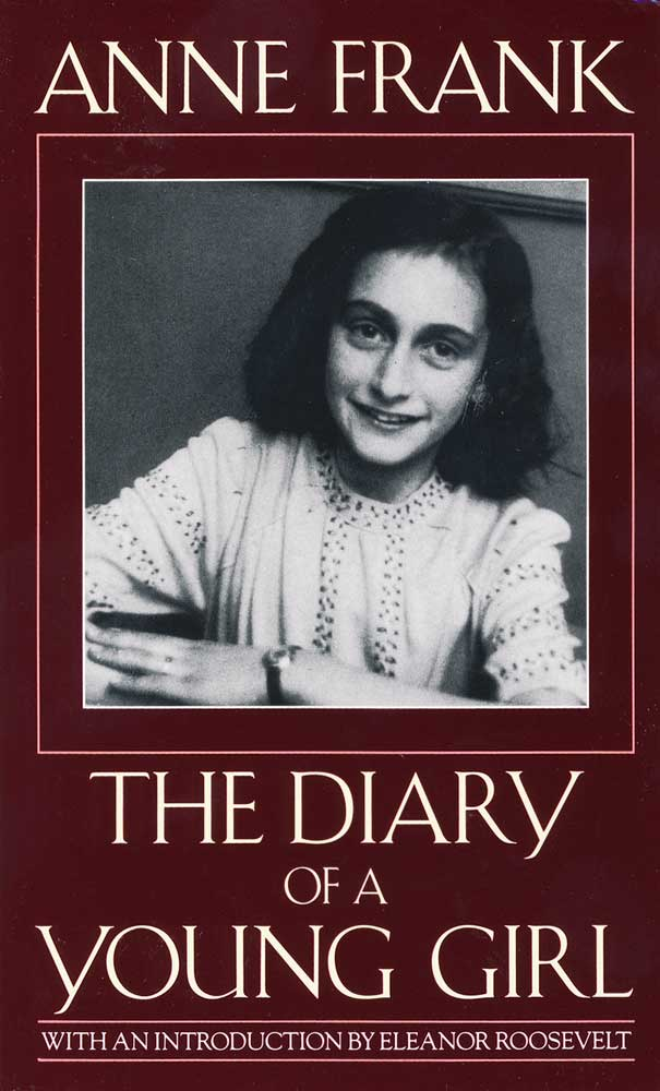 The Diary of a Young Girl Anne Frank Paperback Book (1080L)