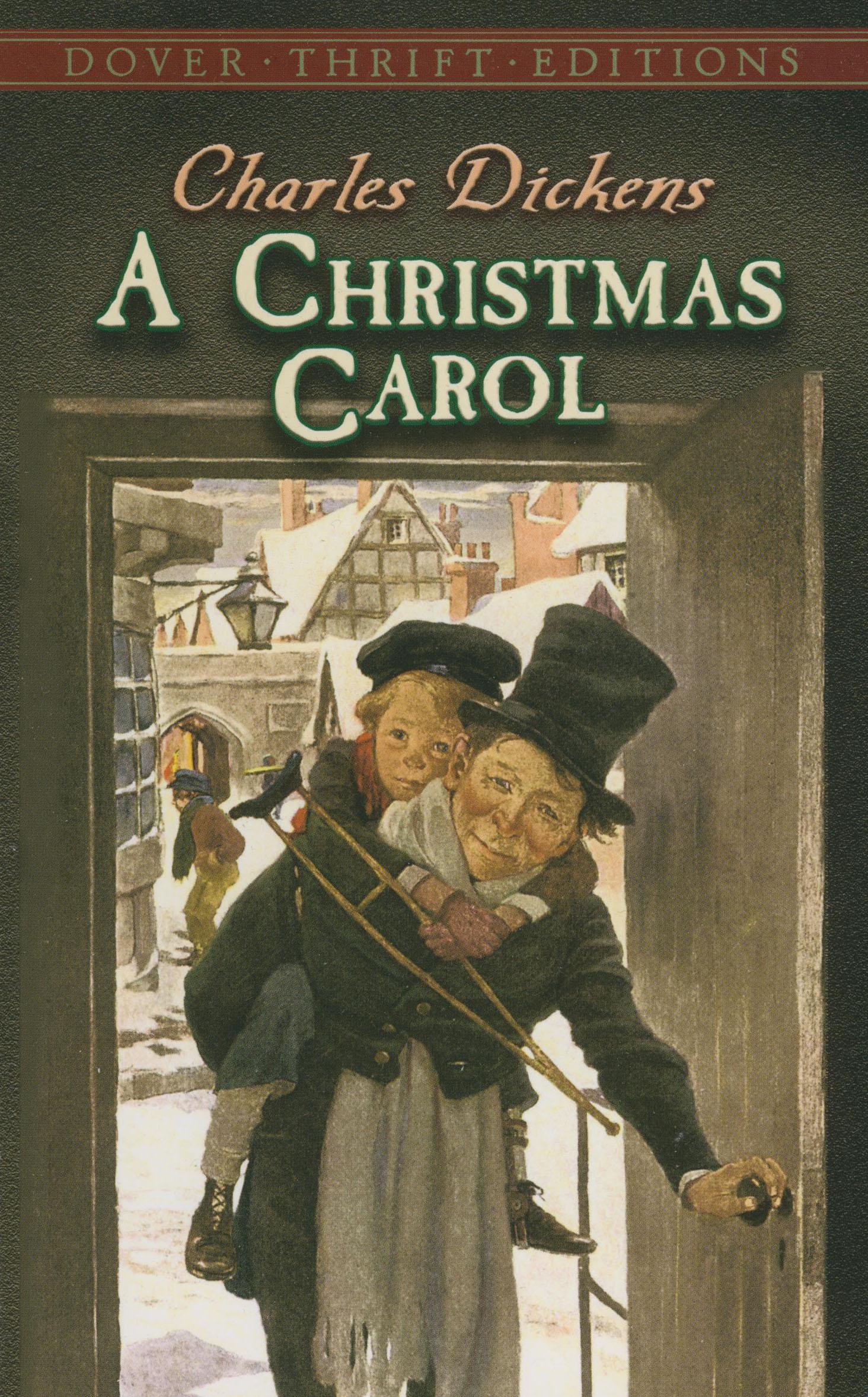 A Christmas Carol Paperback Book (900L)
