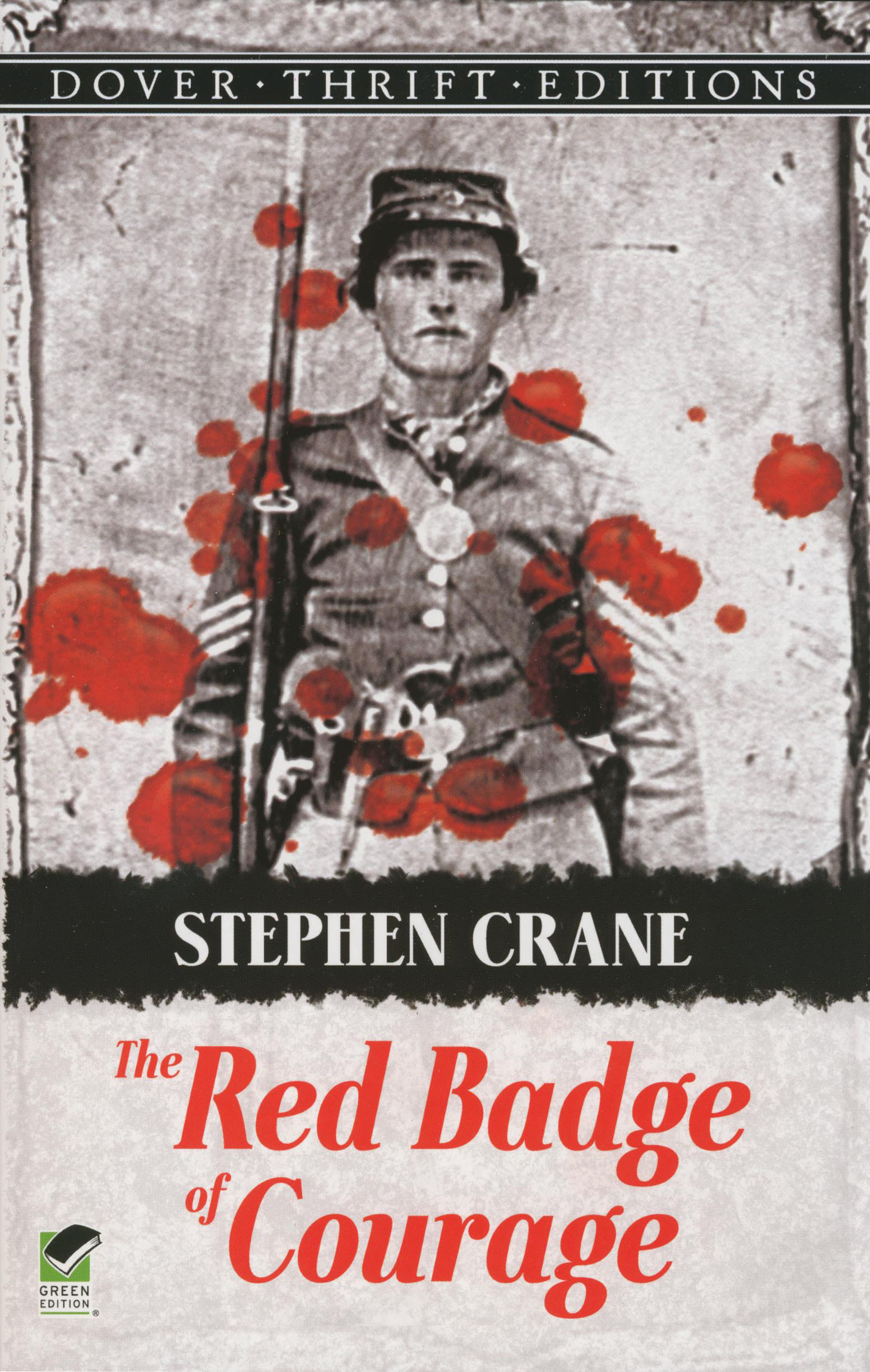 The Red Badge of Courage Paperback Book (HL680L)