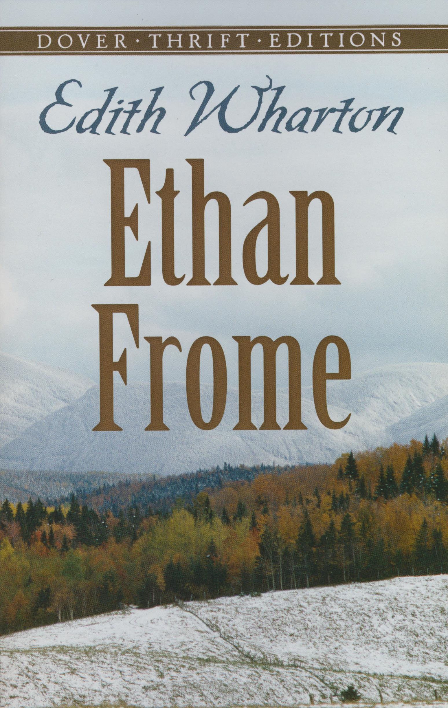 Ethan Frome Paperback Book (1160L)