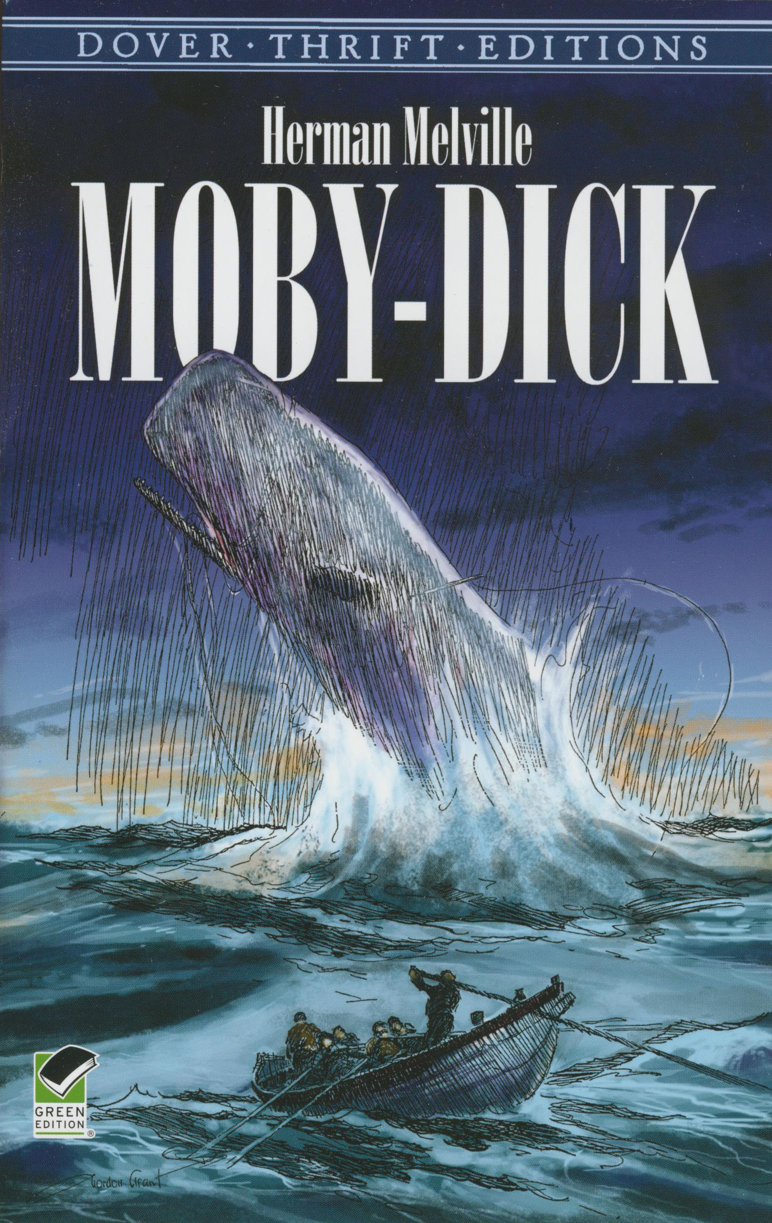 Moby Dick Paperback Book (1230L)