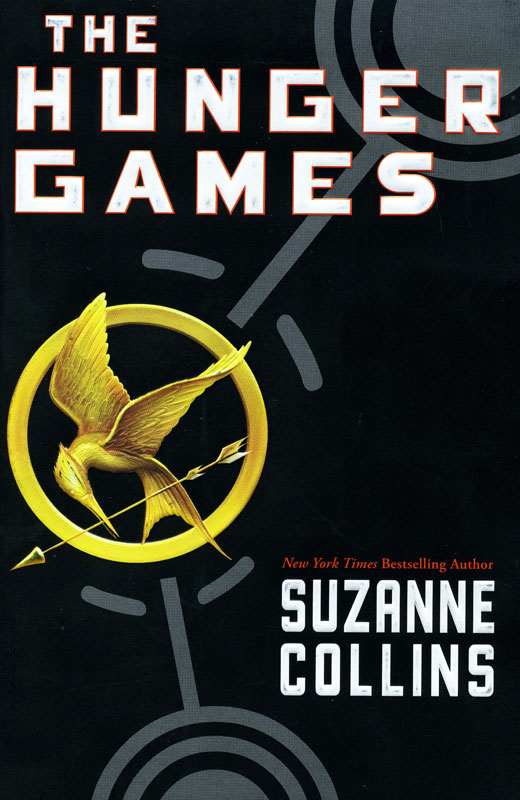 The Hunger Games Paperback Book (1140L)