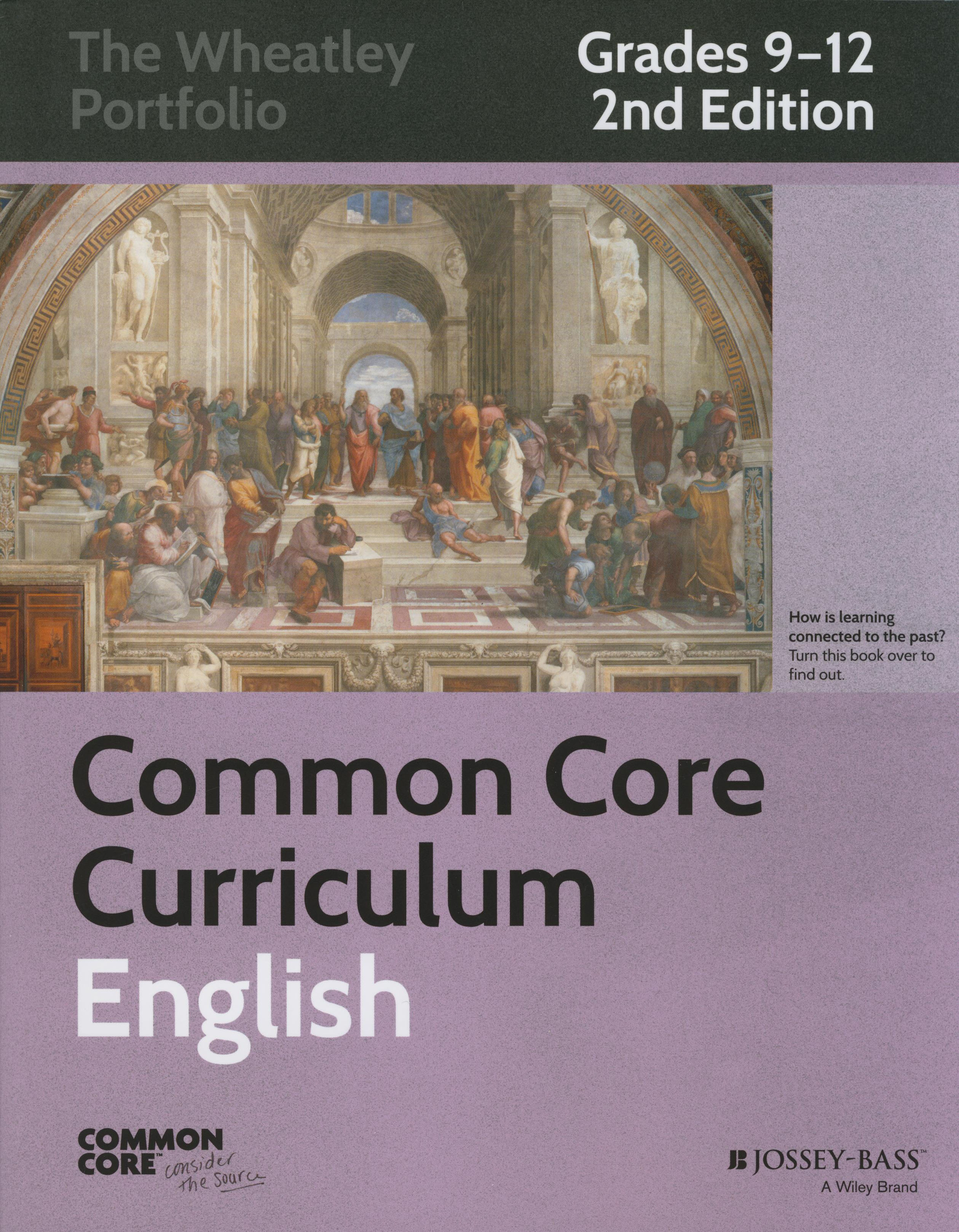 Common Core Curriculum English Grades 9-12, 2nd Edition Thematic Book