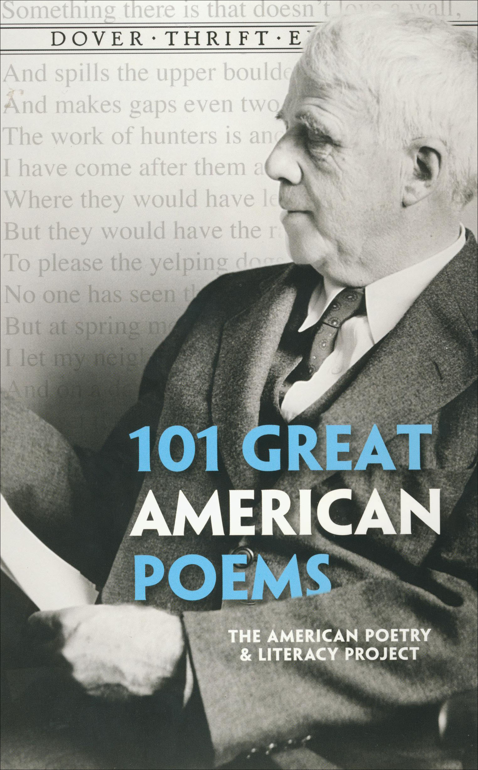 101 Great American Poems Paperback Book (NP)