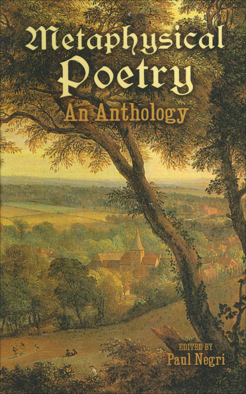 Metaphysical Poetry: An Anthology Paperback Book (NP)