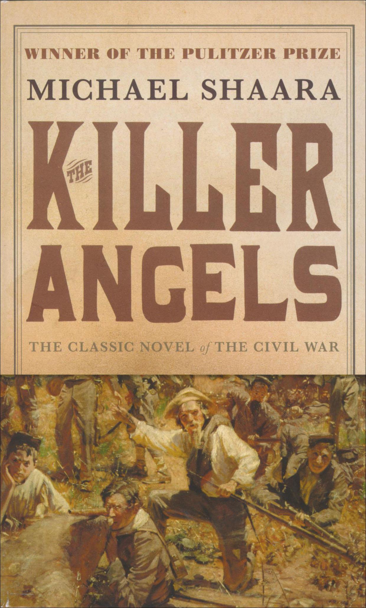 The Killer Angels Paperback Book (610L)