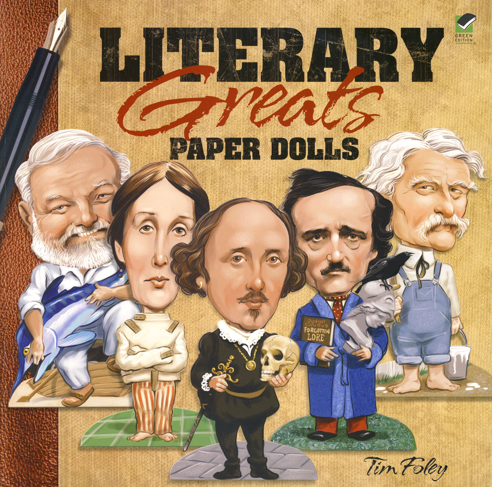 Literary Greats Paper Dolls