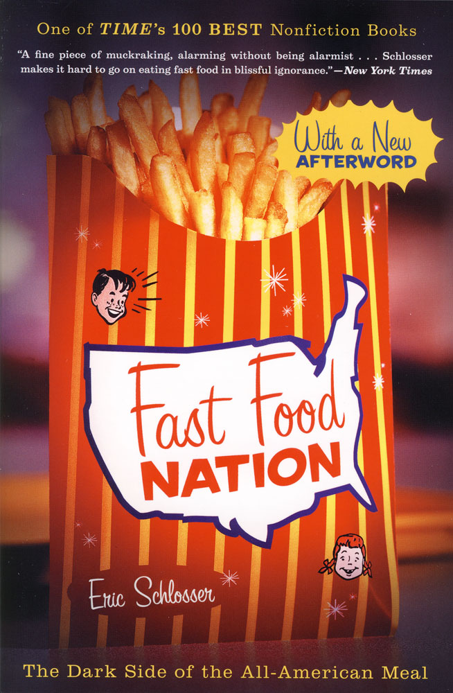 Fast Food Nation Paperback Book (1240L)