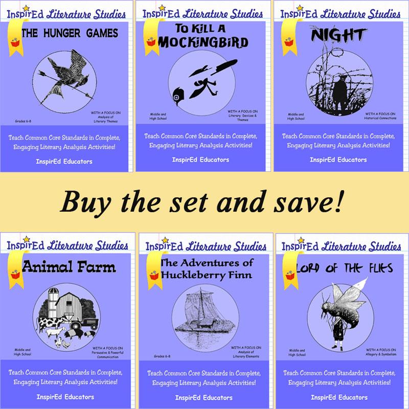 Literature Studies Book Series - Set of 6