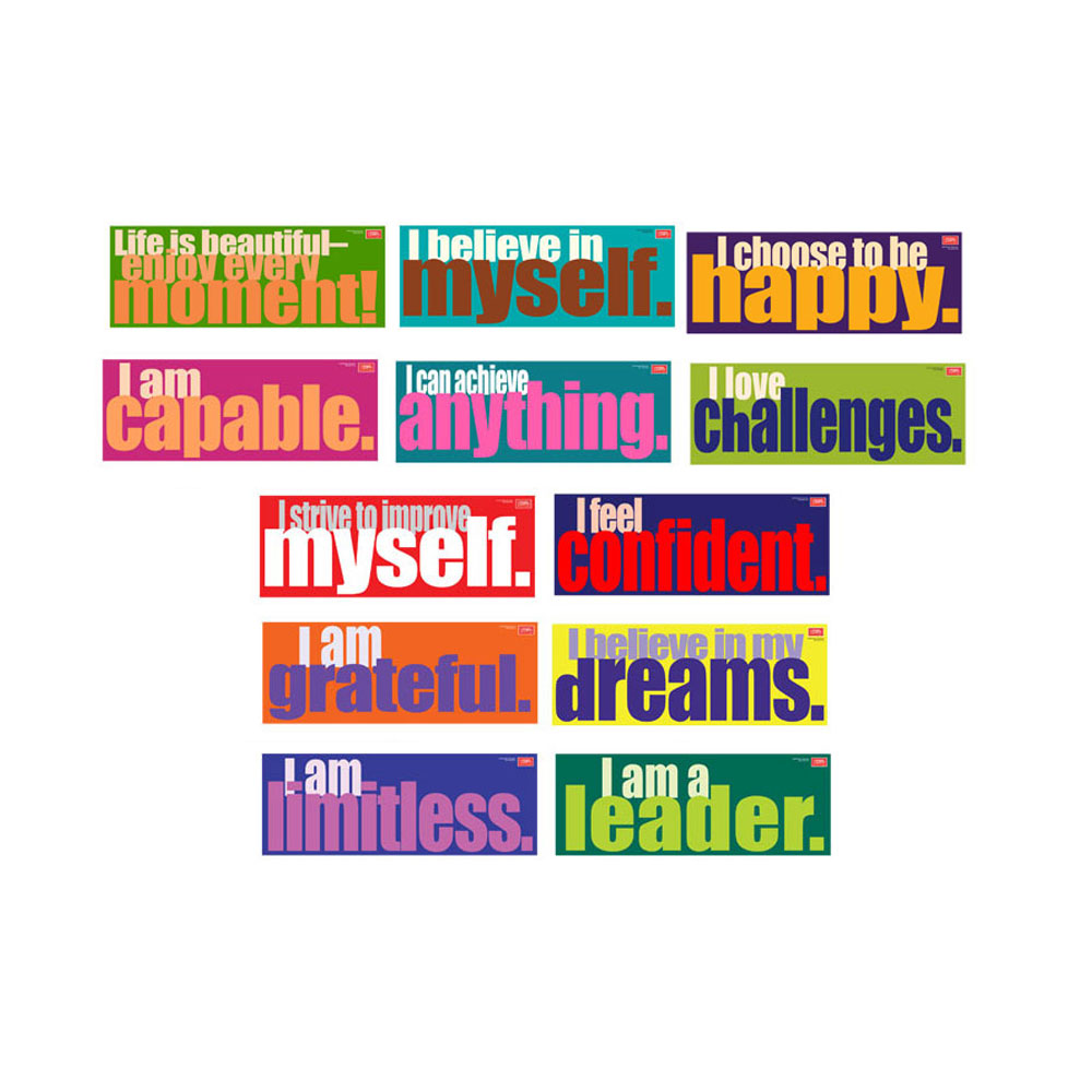Inspired Minds English Signs - Set of 12