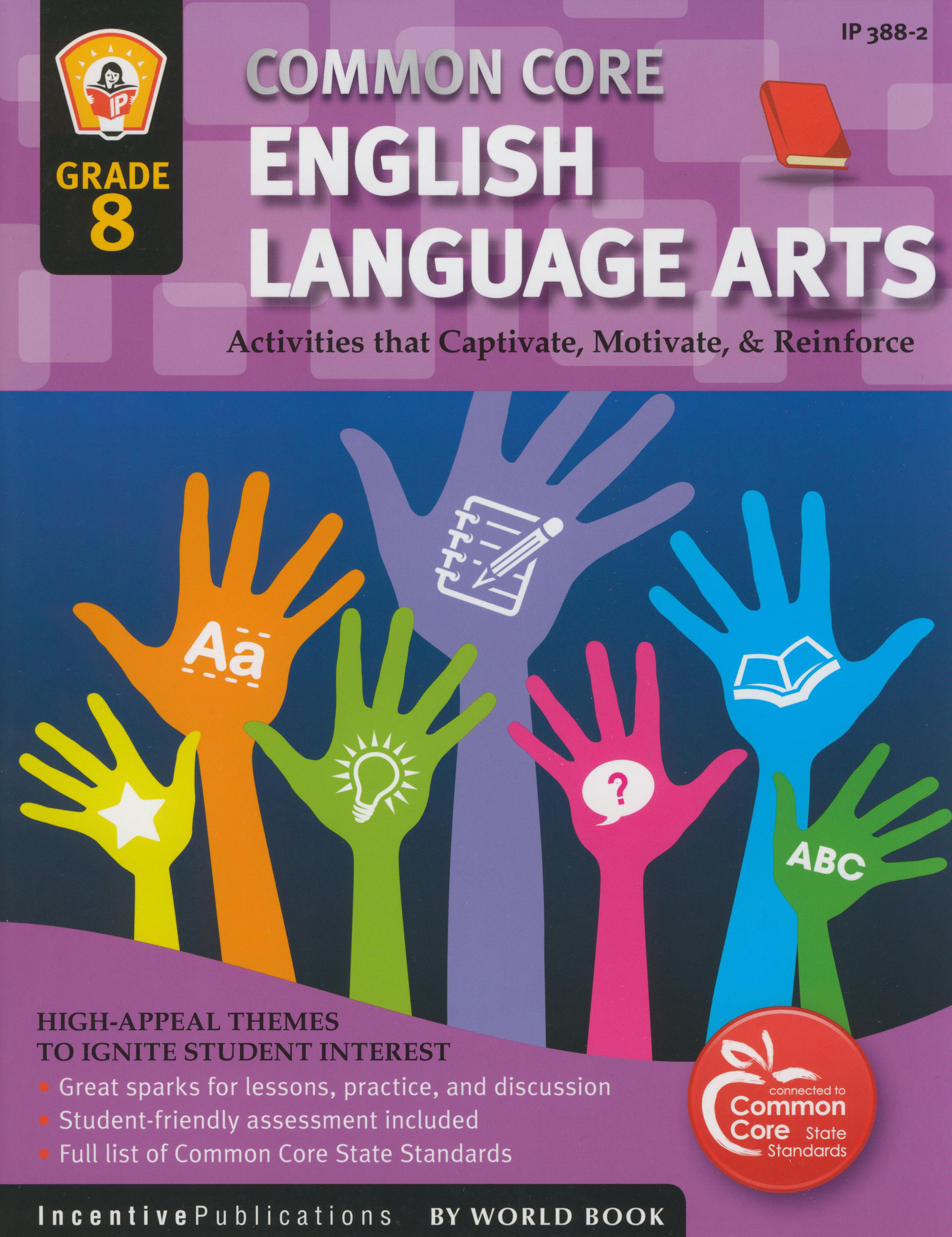 Common Core English Language Arts Activity Book Grade 8