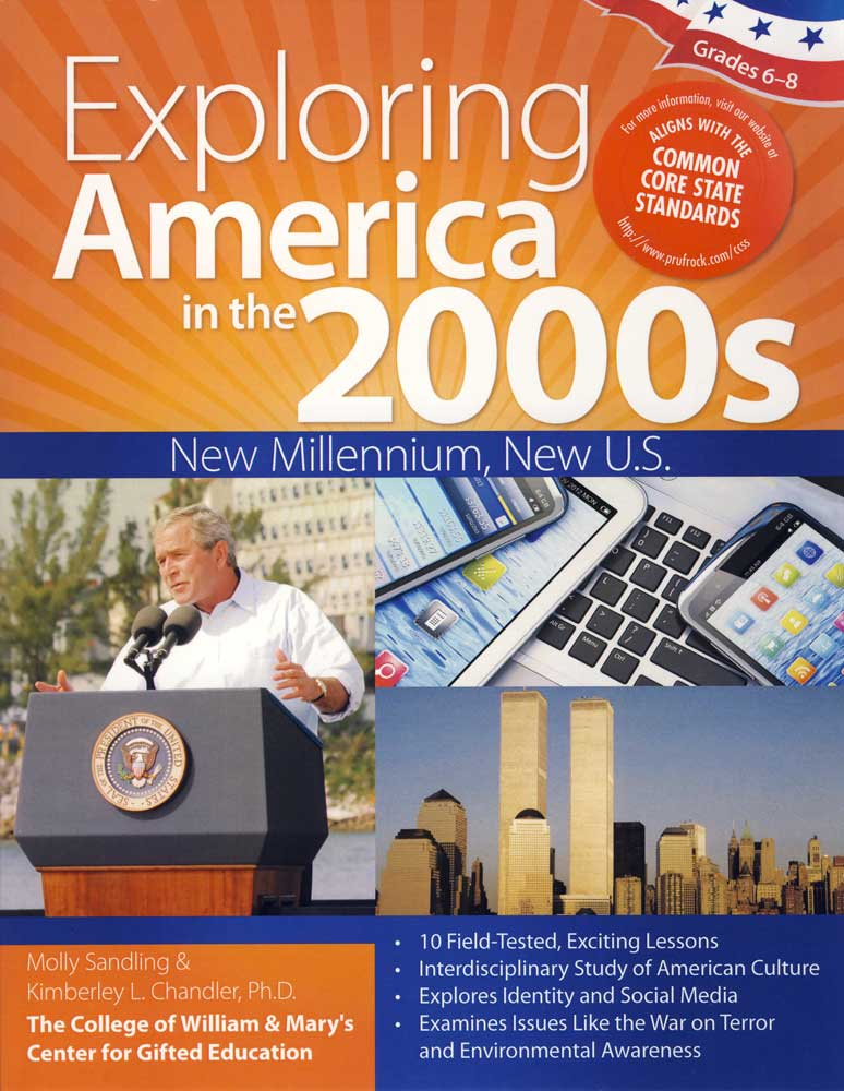Exploring America in the 2000s Activity Book