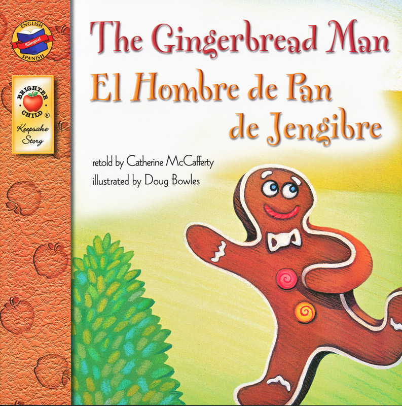 The Gingerbread Man Spanish/English Book