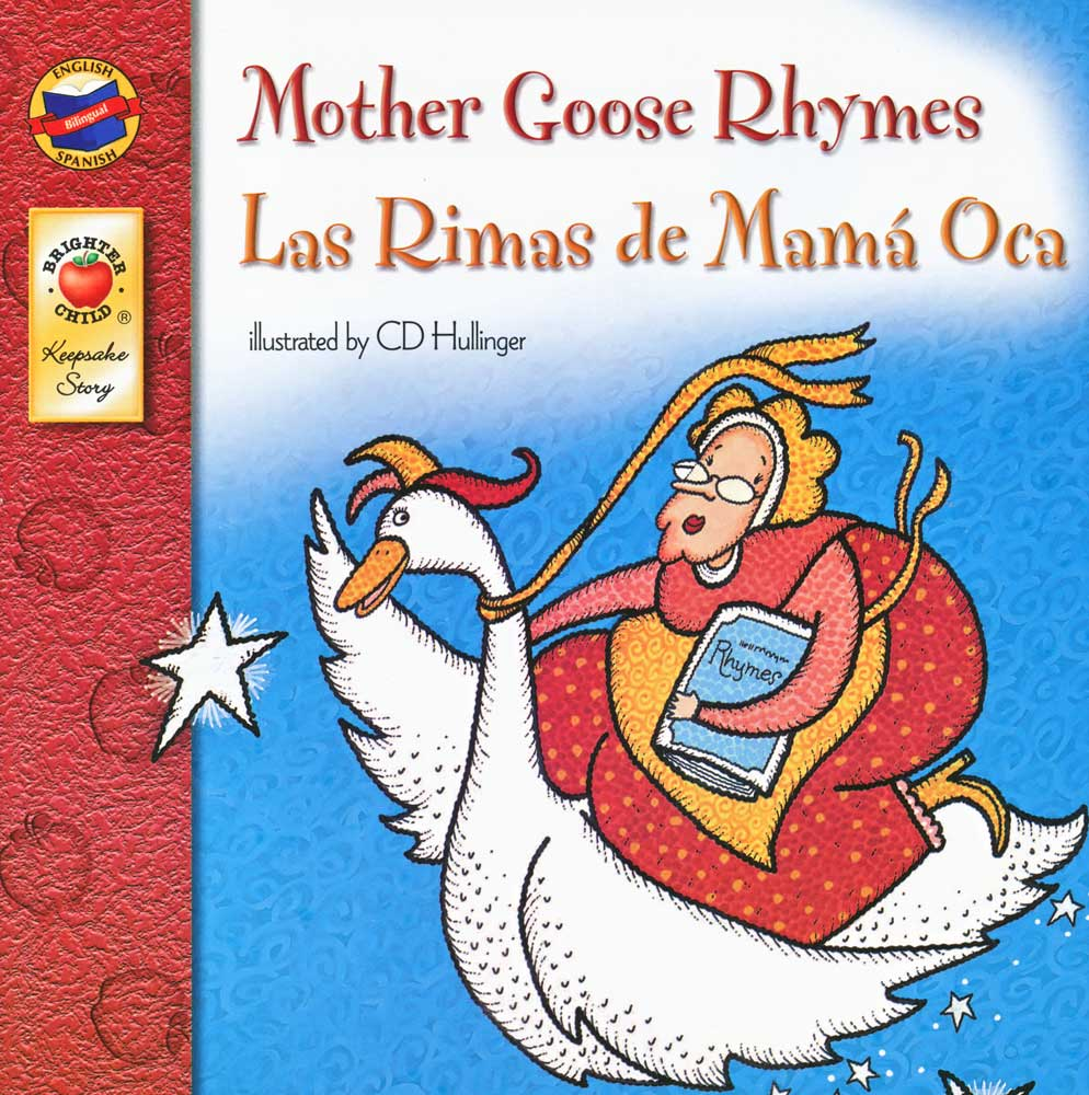 Mother Goose Rhymes Spanish/English Book