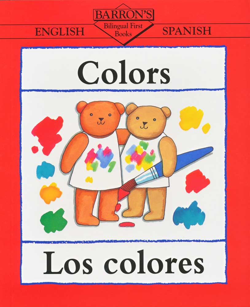 Barrons Spanish Colors Book
