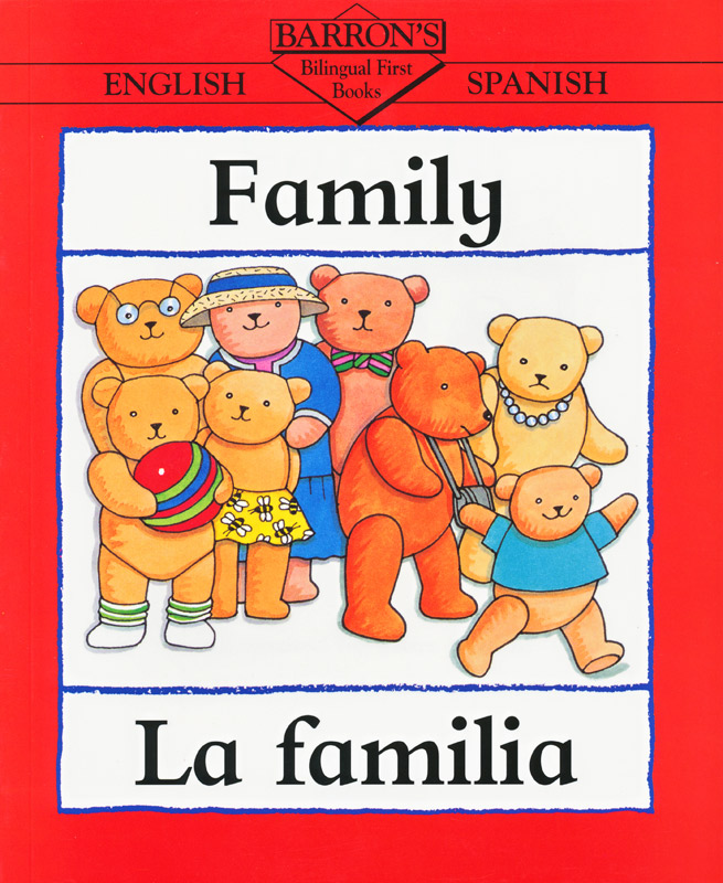 Barrons Spanish Family Book
