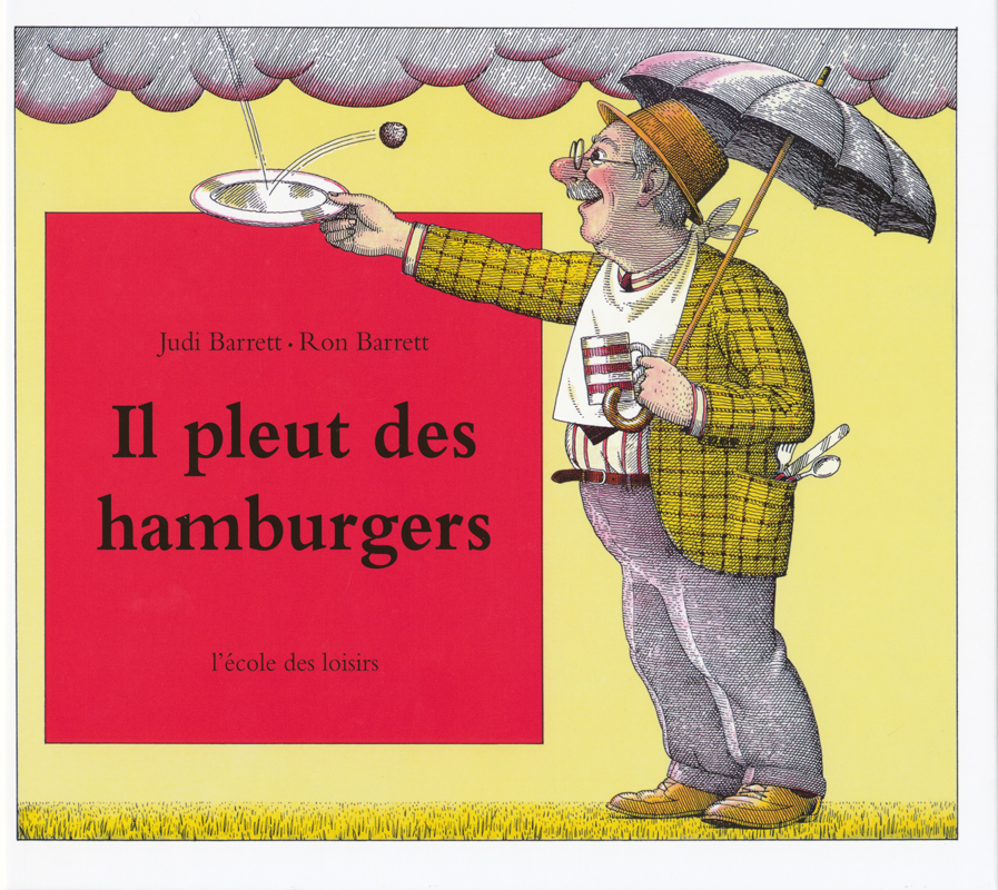 Cloudy With A Chance of Meatballs French Book
