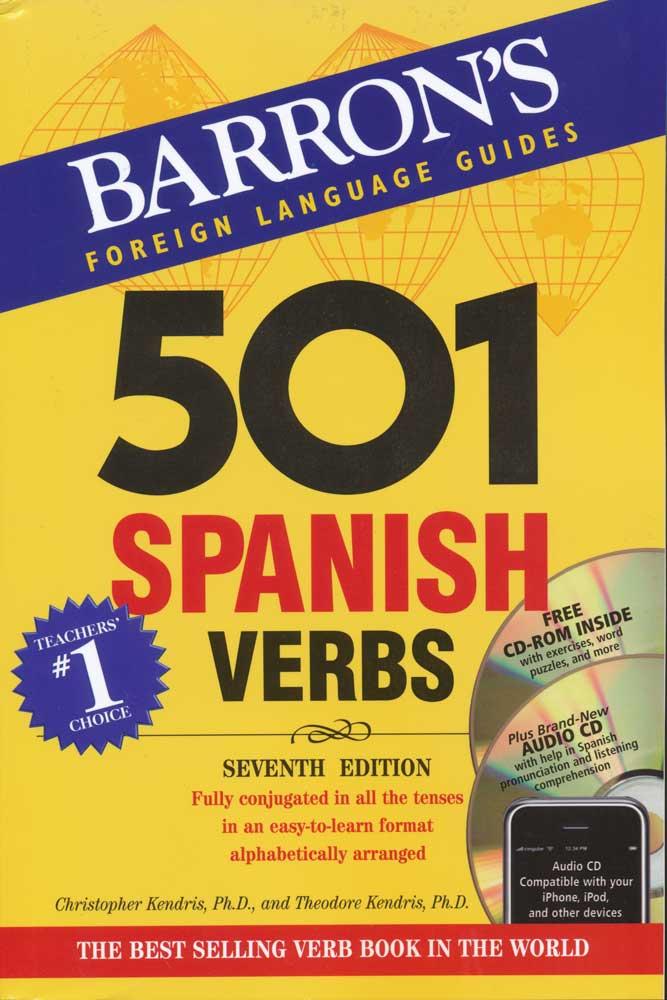 501 Spanish Verbs Book