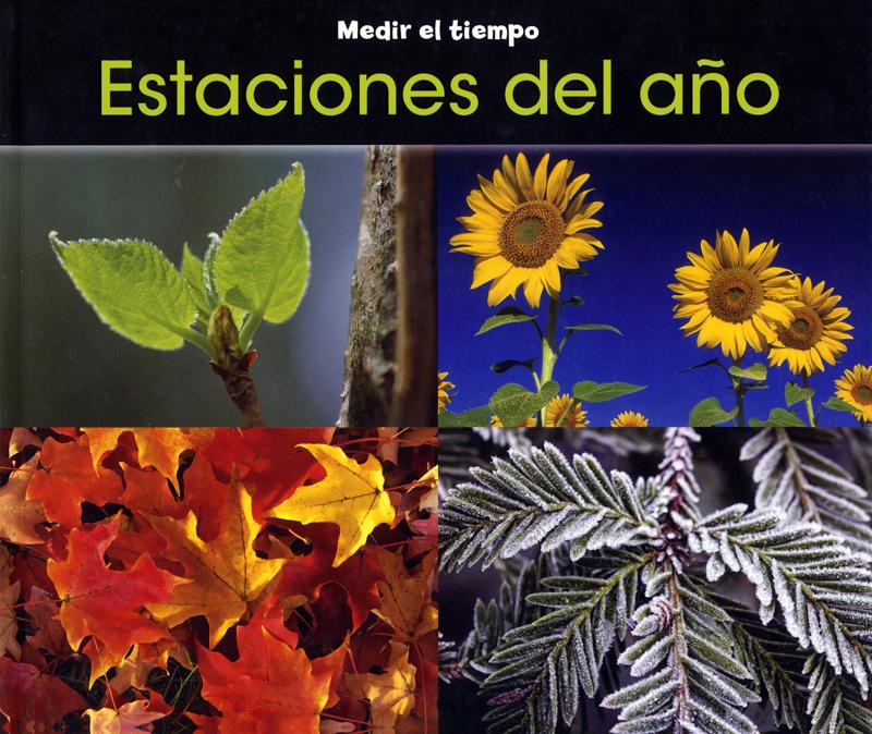 Estaciones del año Spanish Concept Story Book