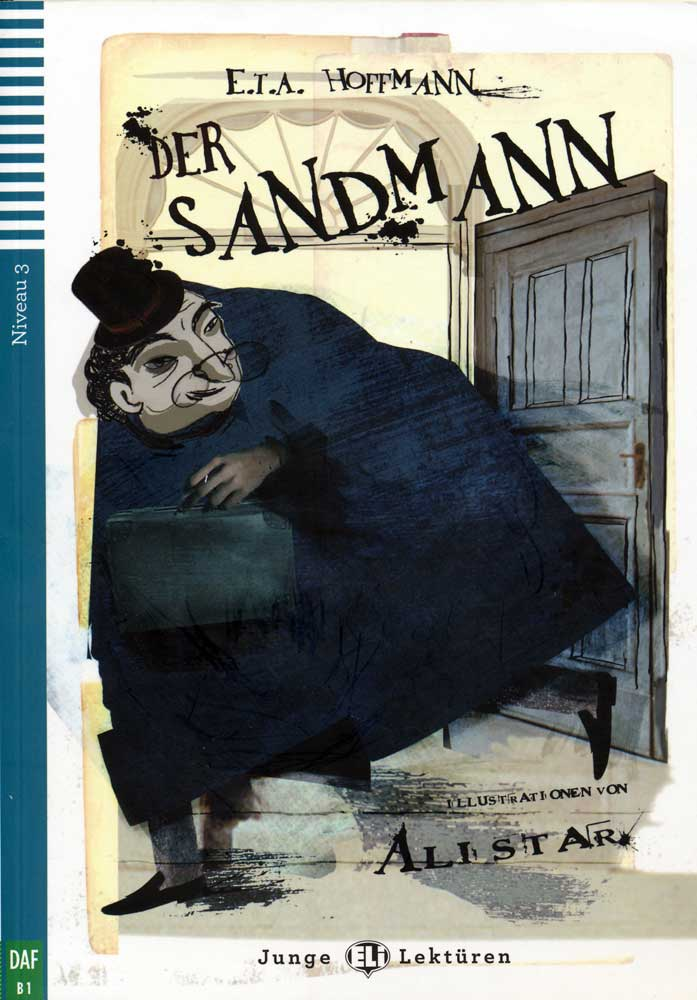 Der Sandmann German Reader + Audio CD Junge Lektüren Niveau 3