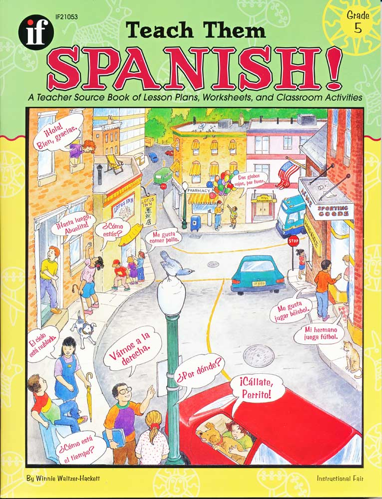 Teach Them Spanish! Grade 5 Book