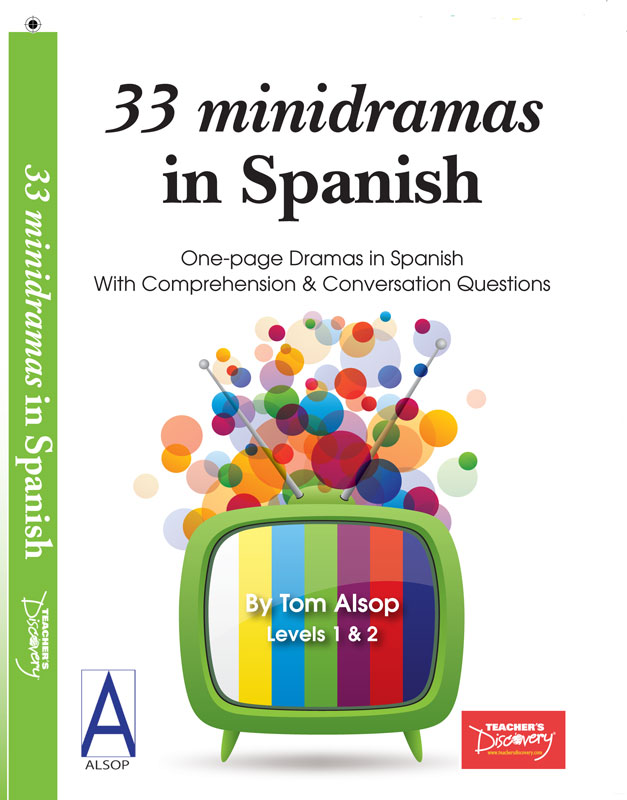 33 minidramas in Spanish Level 1 Reader