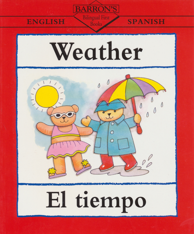 Weather Spanish Book