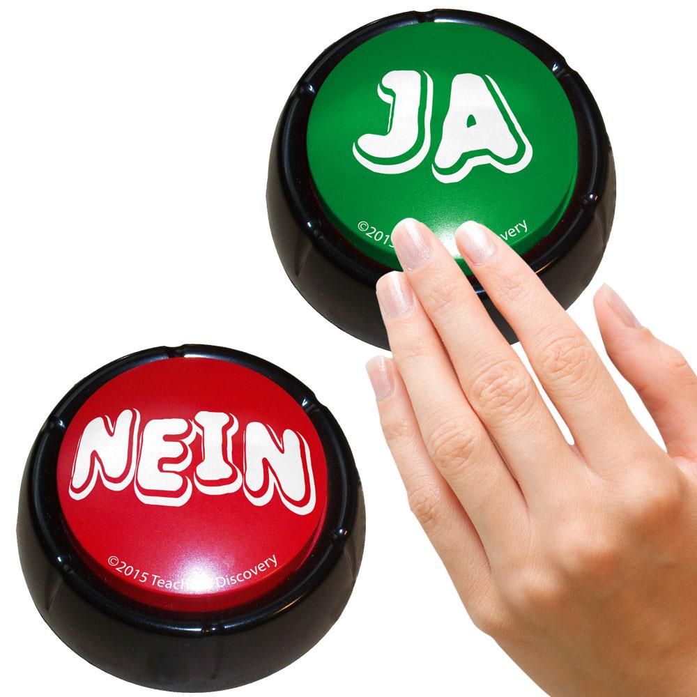German YesNo Buzzers Set of 2