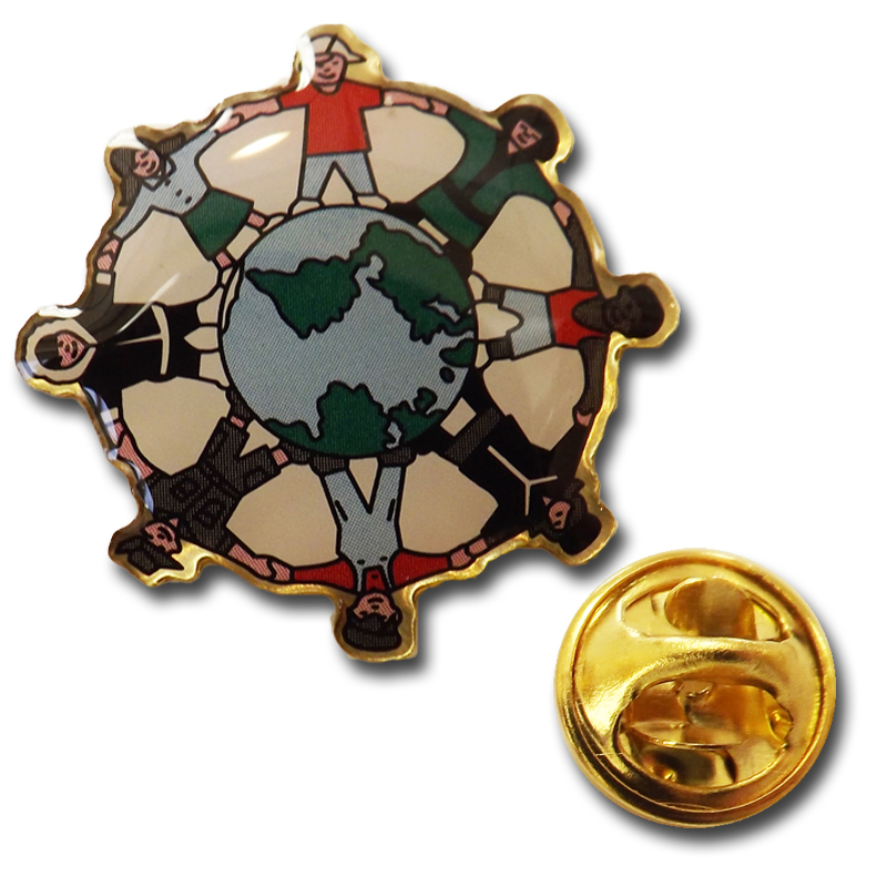 Global Language Pin
