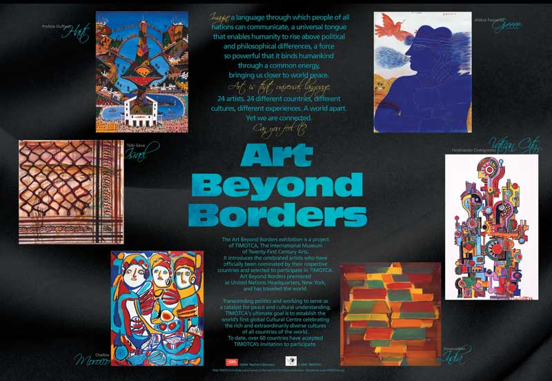 Art Beyond Borders Traveling Exhibit