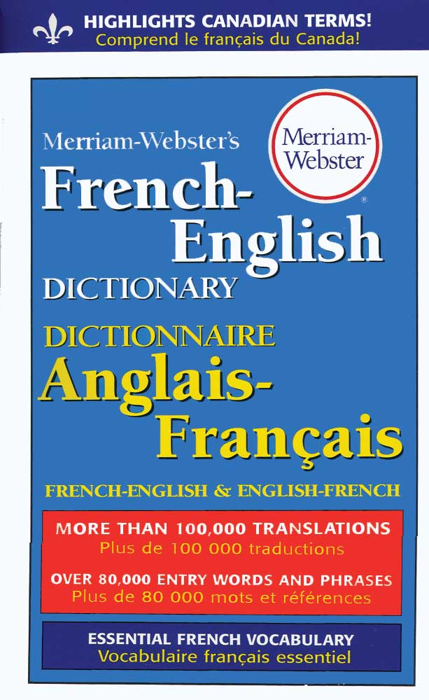 Merriam-Webster's French/English 4 x 6 Dictionary