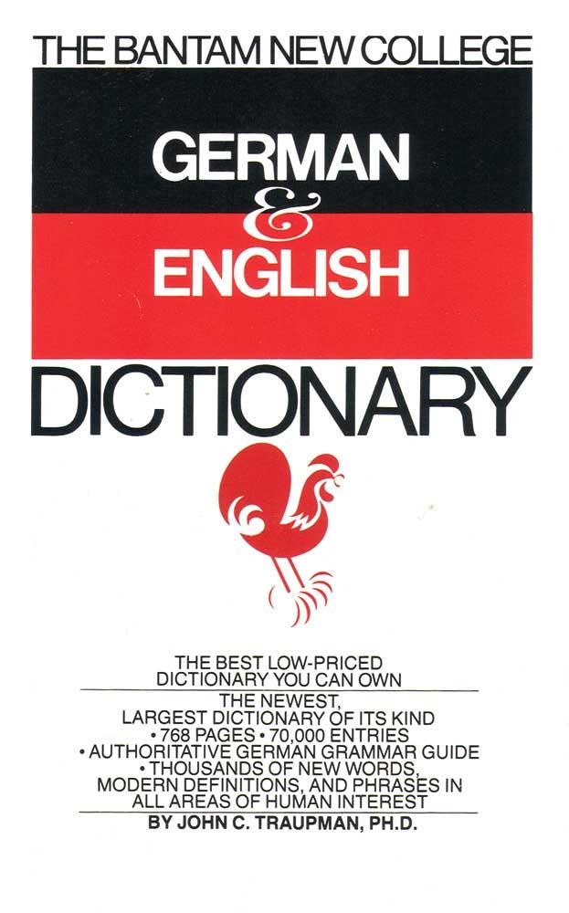 German English Bantam College Dictionary
