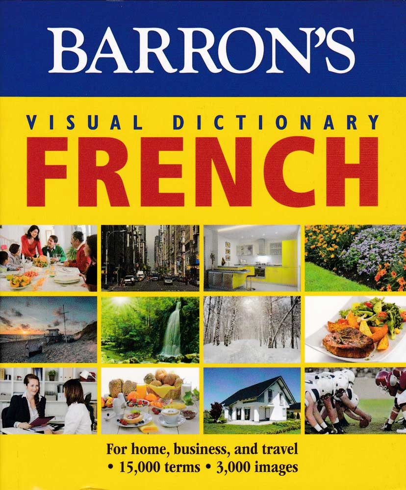 Barron's Visual Dictionary French