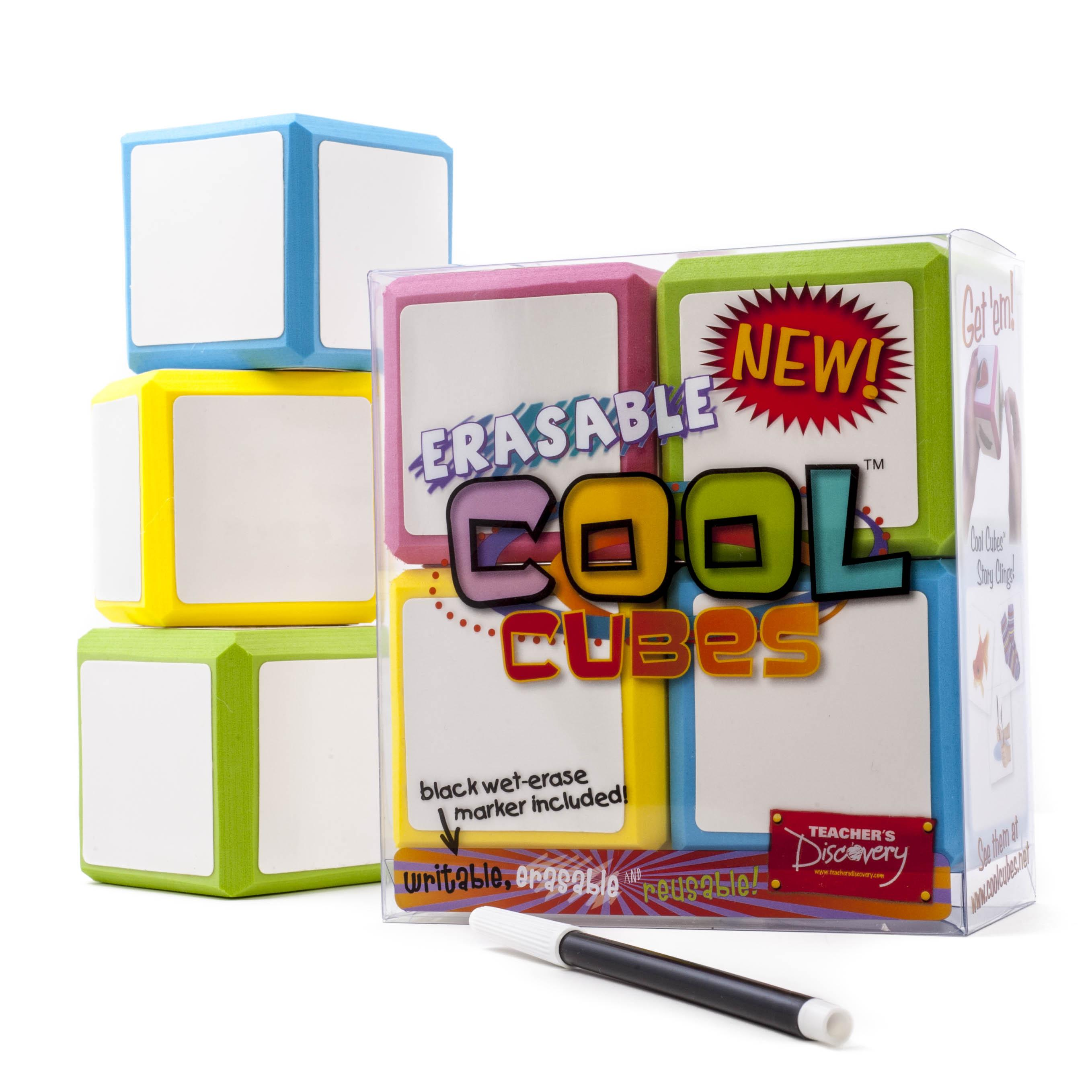 Erasable Cool Cubes 1 Set