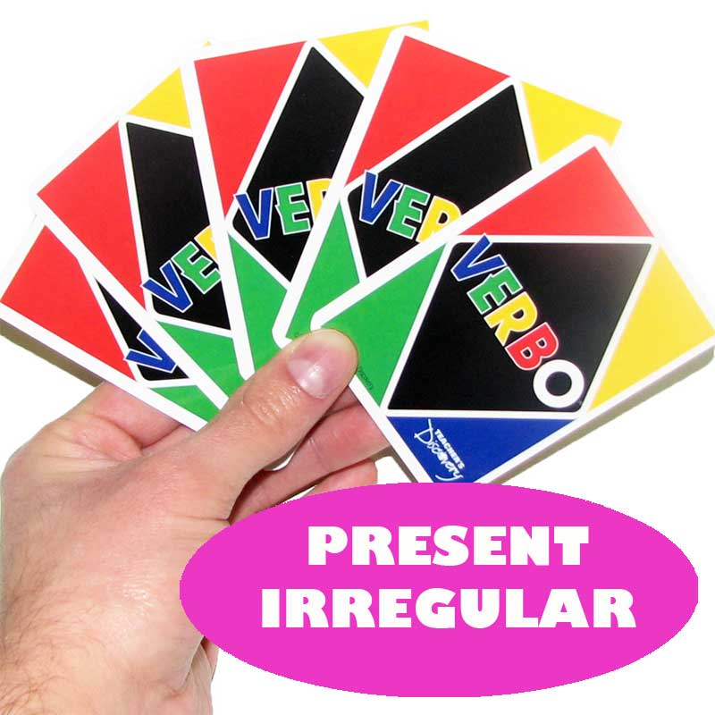 Verbo™ Spanish Card Game Present Tense Irregular Verbs