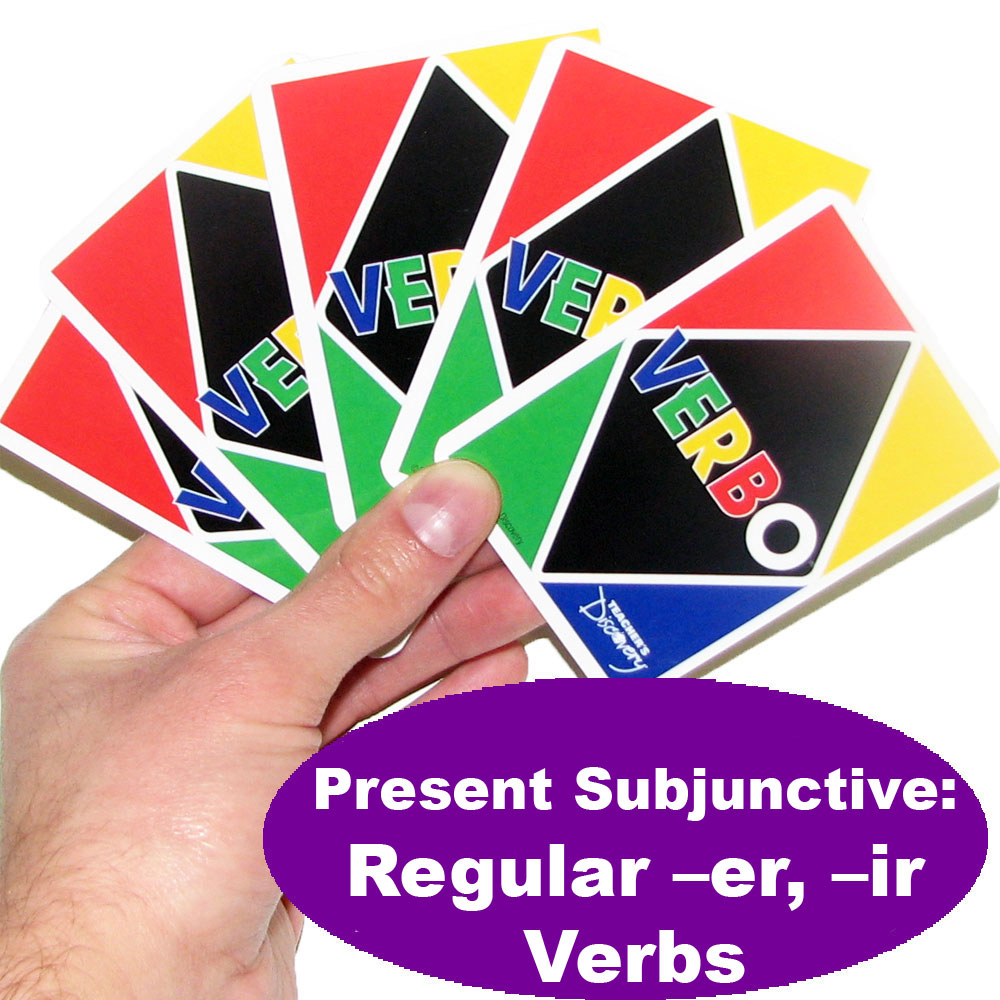 Verbo™ Spanish Present Subjunctive: Regular -er & -ir Verbs Game