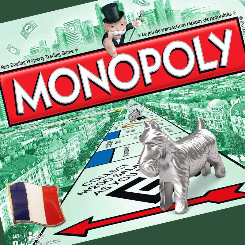 French/English Monopoly Game