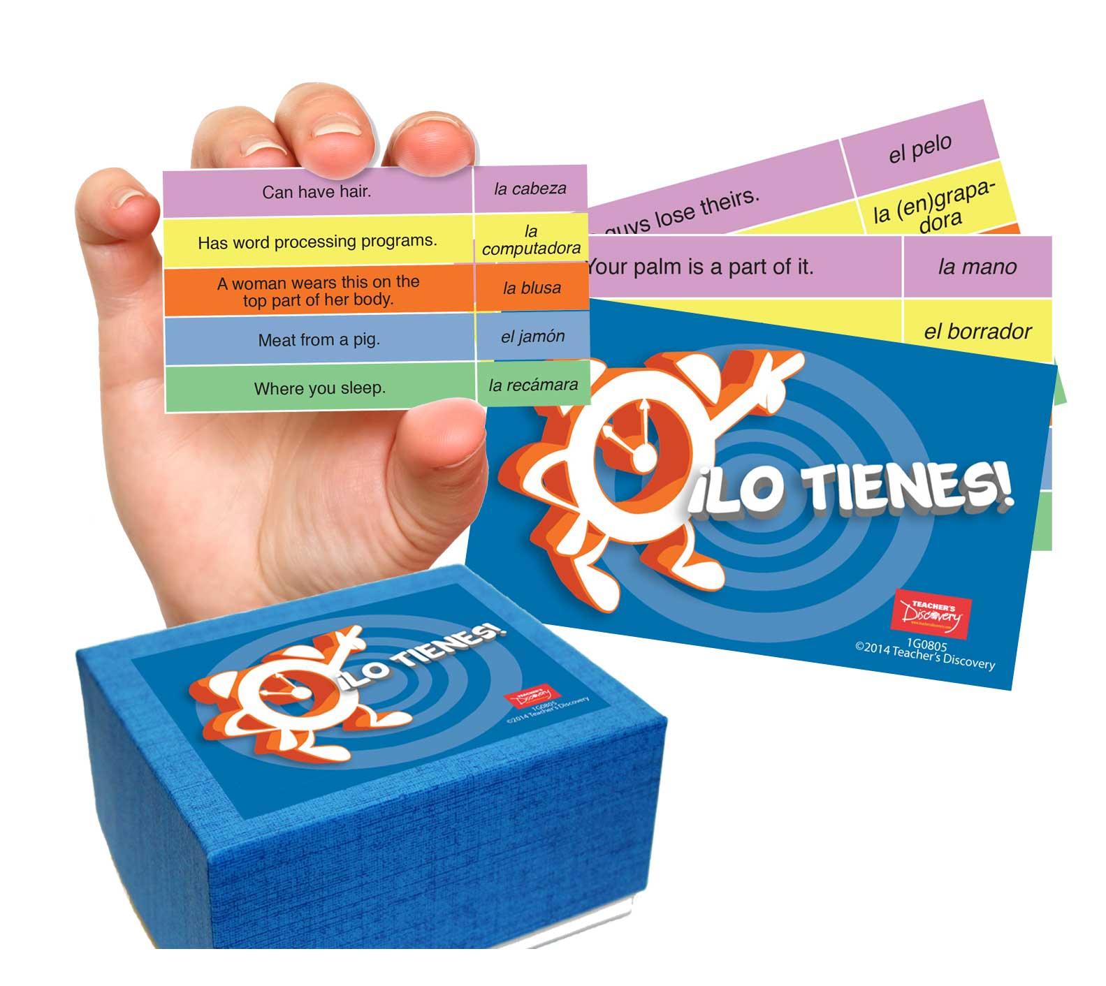 ¡Lo tienes! Spanish Game