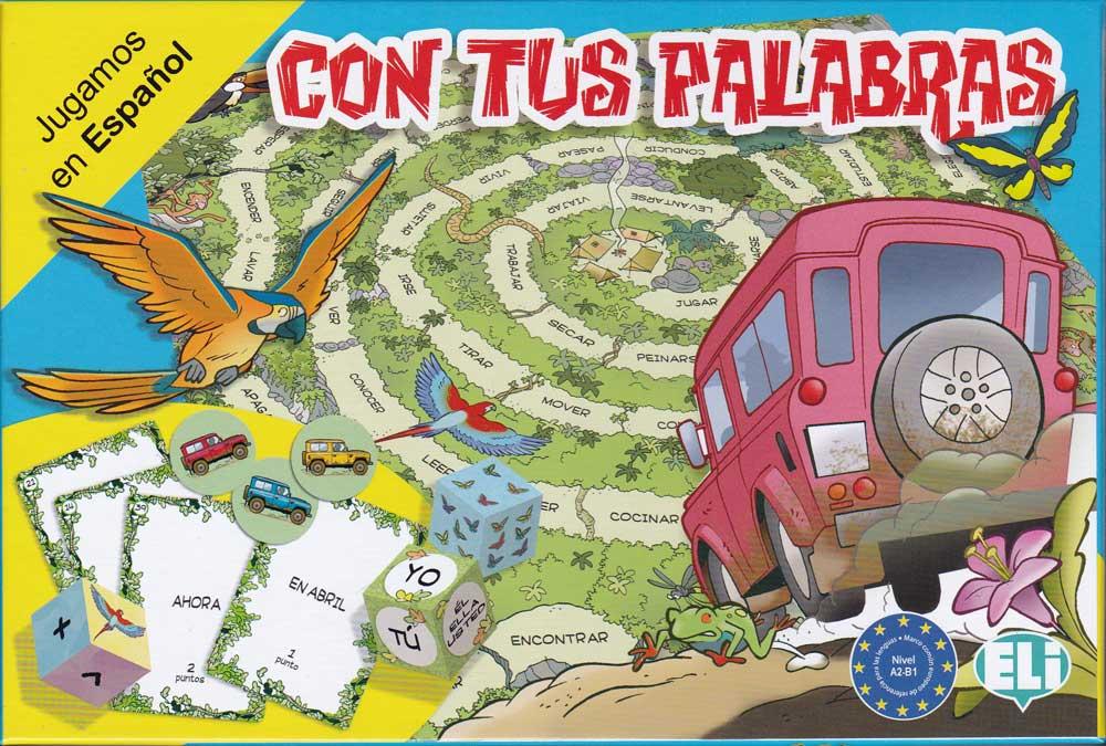 Con tus palabras Spanish Game