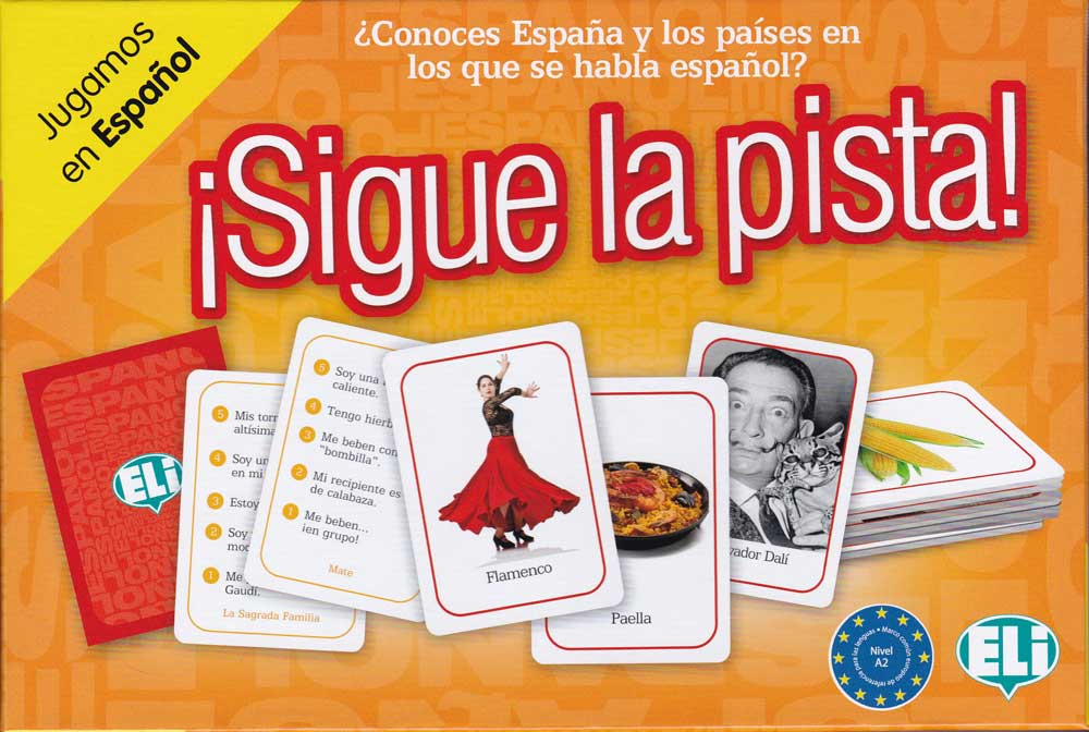 Sigue la pista! Spanish Game