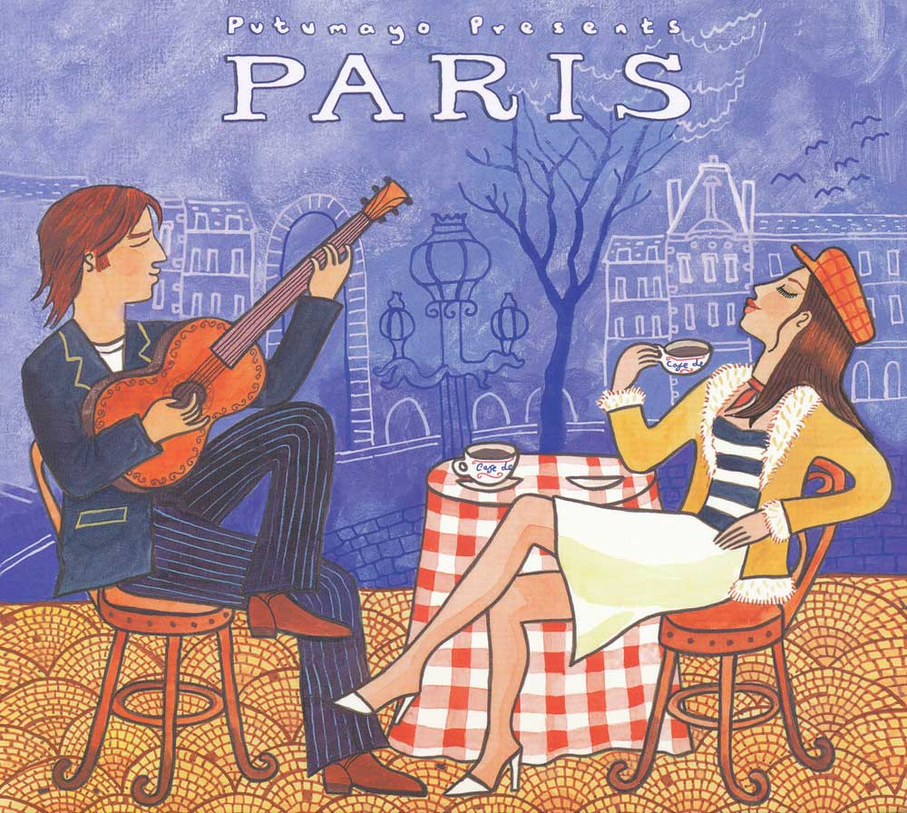 Putumayo Paris CD