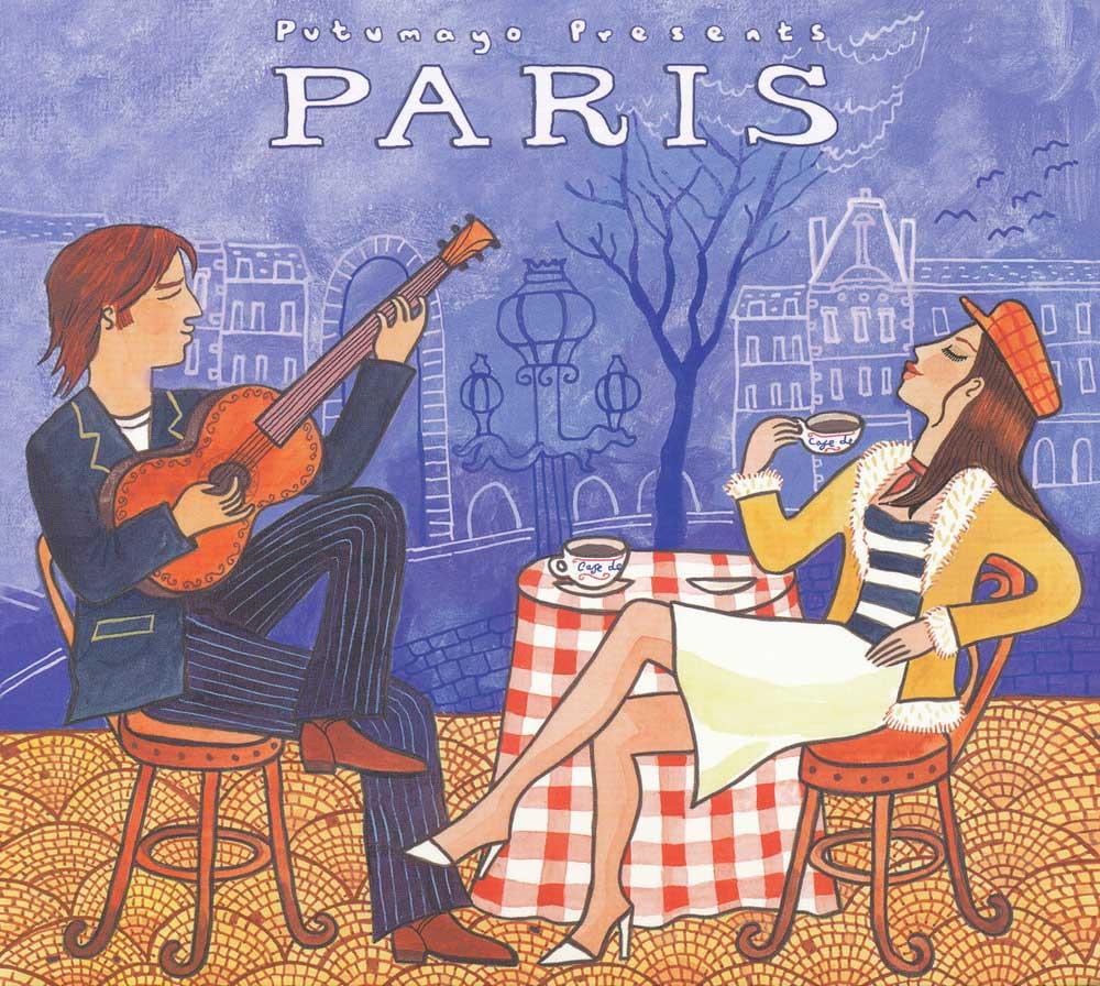 Putumayo Paris CD