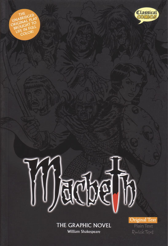 Macbeth Classical Comics Original Text (700L)