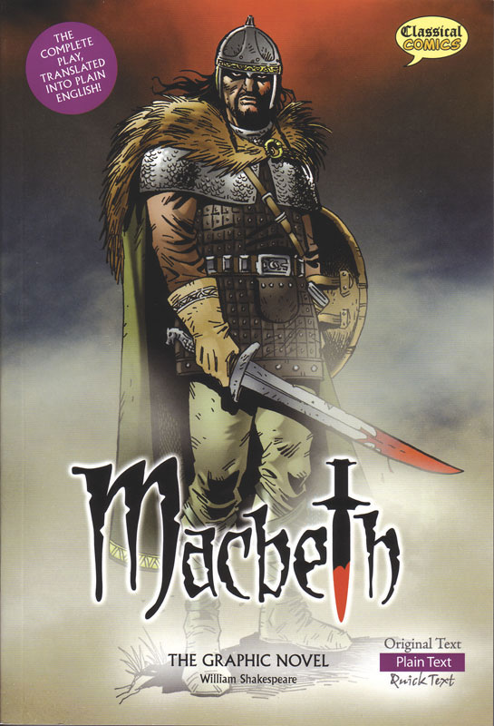 Macbeth Classical Comics Plain Text (580L)