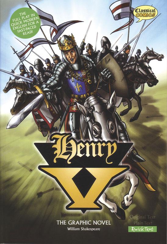 Henry V Classical Comics Quick Text