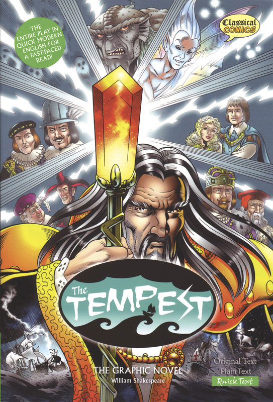 The Tempest Classical Comics Quick Text