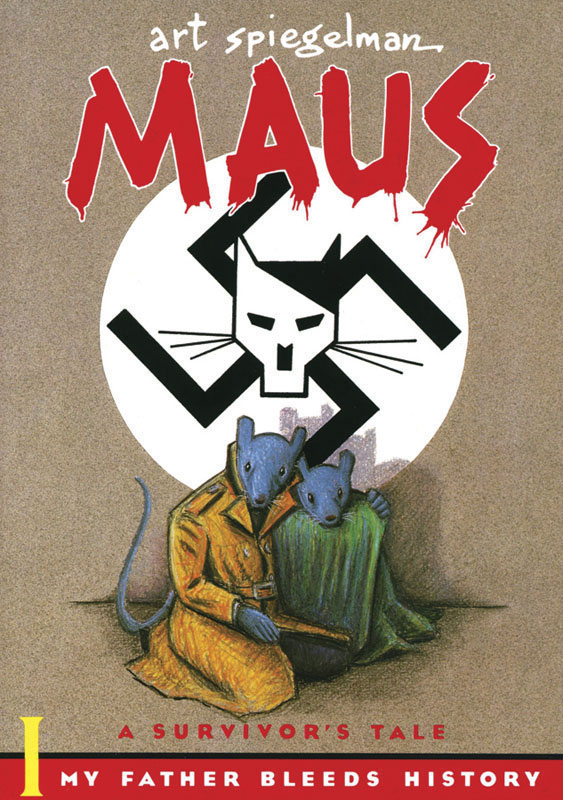 Maus I A Survivor's Tale My Father Bleeds History Paperback Book (NP)