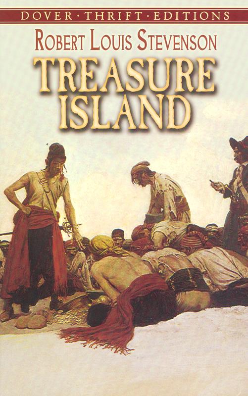 Treasure Island Paperback Book (760L)