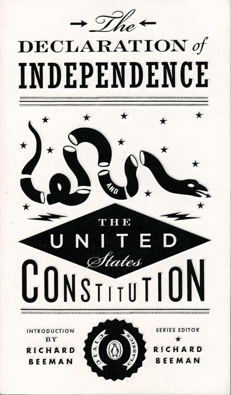 The Declaration Of Independence Paperback Book